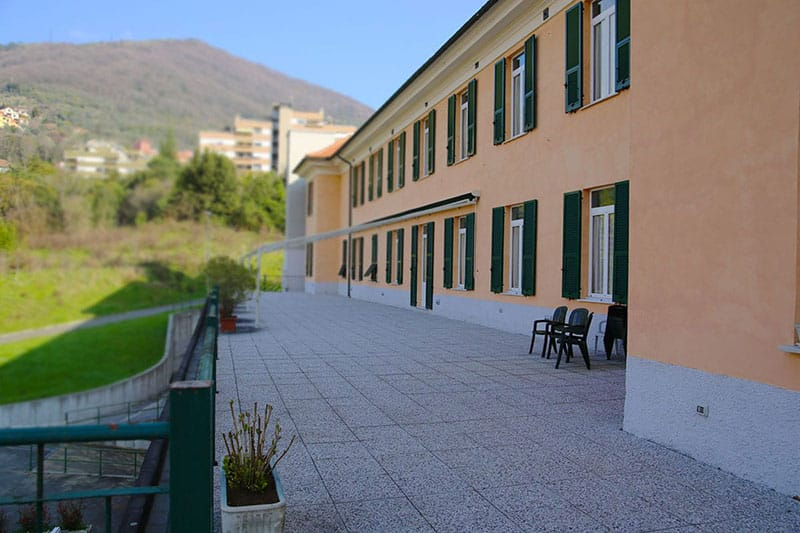 ASP Emanuele Brignole - la Doria - terrazzo
