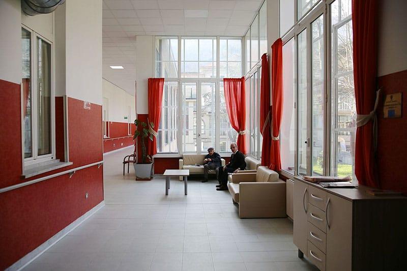 ASP Emanuele Brignole - la Doria - area lettura
